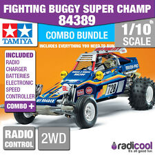 COMBO DEAL! 84389 TAMIYA FIGHTING BUGGY SUPER CHAMP LIMITED EDITION R/C KIT!