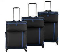 Revelation By Antler Weightless 4 Wheel Black Suitcase Luggage - Choice of Size.