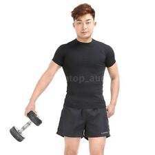 Polyester Men Sports Shorts  Casual Trousers Jogging Running Gym Pants New P8B4