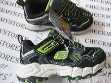 nib Skechers Damager  Skechers® Shoes REPTILIAN  sz 5 Toddler BLACK LIME