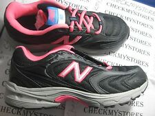 NIB NEW BALANCE KJ80BPY   Girls Athletic sneakers, Black/Pink BIG KIDS GIRLS