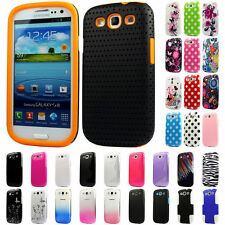 Silicone TPU Gel Bumper Case Cover Sleeve Skin For The Samsung Galaxy S3 i9300