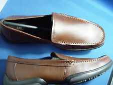 """NIB UNLISTED """"QUICK WIT""""BY K.COLE Loafers Shoes Mens SLIP ON SHOES TAN COLORS"""