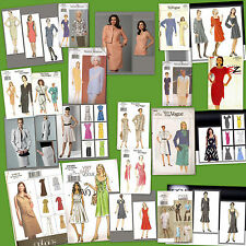 OOP Vogue Sewing Pattern Misses Dresses Plus Size  You Pick