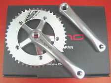 Sugino RD2-Messenger Track Crankset Fixed Gear 1/8 x 46T/48T 165mm Silver