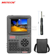 Full Hd Digital Satellite Signal Finder Meter with Cctv Camera Tester