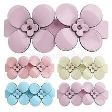 Acrylic Flower Spring Large Hair Clip Barrette Hair claw clip Clamp Accessory