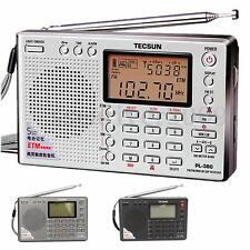 TECSUN PL-380 DSP PLL FM MW SW LW Digital Stereo Radio World Band Receiver New