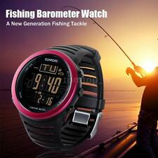 Digital Fishing Watch Barometer Altimeter Thermometer Weather Forecast J9D4