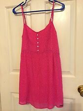 NEW ABERCROMBIE & FITCH A&F WOMENS  DRESS SUN SUMMER Size M.