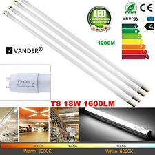 4/12PCS 18W T8 LED Tube Lamp 4ft Fixture Fluorescent G13 Tube Bulb Light White