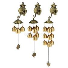 Chinese Style Wind Chime Lucky Feng Shui Charm Bag Garden Decor 3 Styles