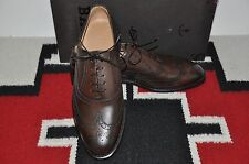Bally Scribe Filmes Chocolate Calf Hand Made in Switzerland Dress Shoes
