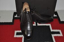 Bally Scribe Farban Chocolate Calf Hand Made in Switzerland Dress Shoes