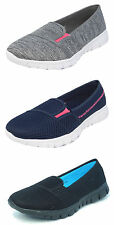 Womens Ladies Summer Shoes Lightweight Mesh Trainers Pumps Memory Foam Size 3-9