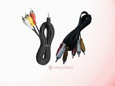 A/V 3 RCA Cable For Roku,2,LT,HD,2 XD,2XS,HDTV Digital Media Streamer Plaryer