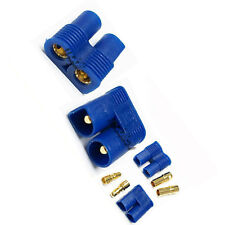 8 Pair Female Male EC3 EC 3 3.5mm Bullet Connector Plug Battery M1 Blue