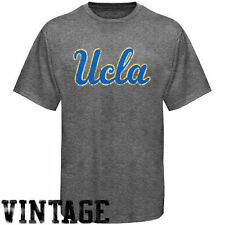 UCLA Bruins Distressed Big Logo Ring Spun T-Shirt - Gray - College