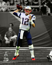 Tom Brady New England Patriots NFL Licensed Fine Art Print (Select Photo & Size)