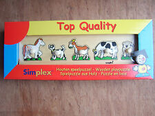 Simplex Wooden Peg Puzzles 2 to choose from.Farm Animals/Farmer going to market