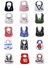 Baby Boy Girl Bibs Waterproof Saliva Towels Feeding Bandanas Cotton Cloth Multi