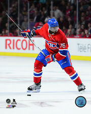 P.K. Subban Montreal Canadiens 2015-2016 NHL Action Photo SK014 (Select Size)