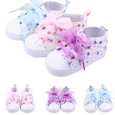 Hot Kids Baby Boots Girls Lace Up Soft Sole Crib Sneakers Shoes Toddler Shoes