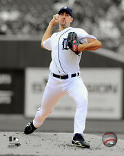 Justin Verlander Detroit Tigers MLB Licensed Fine Art Prints (Select Photo/Size)