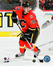 Jiri Hudler Calgary Flames NHL Action Photo PQ068 (Select Size)