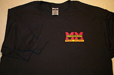 Mens Minneapolis Moline Long Sleeve Embroidered T-shirt (5 colors)