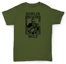 HOWLIN WOLF T SHIRT DELTA BLUES SOUL JAZZ CHESS VINYL