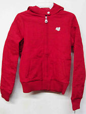 FOX RACING GIRLS LOGGER RED GIRLS/WOMENS FULL ZIP-UP JACKET COAT BRAND NEW
