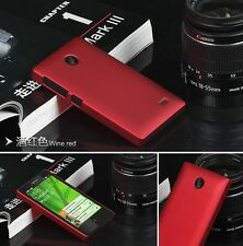 Ultra Thin Slim PC Rubber Silicone Matte Shockproof Skin Case Cover For Nokia X