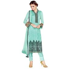 Designer Georgette Embroidered Salwar Kameez Suit Indian Dress-Sim-Royale-742