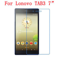 "1x 2x New HD LCD Clear Screen Protector Film Guard Shield For Lenovo TAB3 7"" Lot"