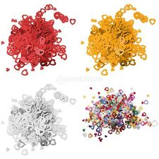Heart Wedding Party Table Top Confetti Decoration Paper Scatter Sprinkles