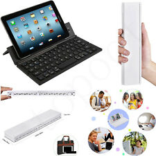 Mini Portable Wireless Foldable Bluetooth Keyboard For Windows AndroidiOS PC Lot