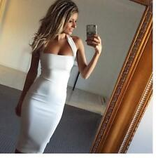 Sexy Women's Backless Halter Bodycon Pencil Dress Clubwear Cocktail Business New