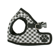 Any Size - PUPPIA - Lattice - Dog Puppy Step In Vest Harness - Black