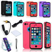 For Apple iPhone 5C Waterproof Shockproof Dirt Snow Proof Heavy Duty Case Cover