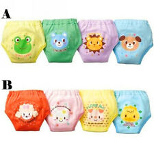 4 X Baby Toddler Girl Cute 4 Layers Waterproof Potty Training Pants reusable DEB