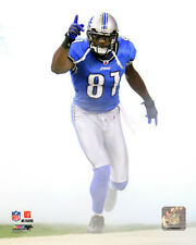 Calvin Johnson Detroit Lions NFL Licensed Fine Art Prints (Select Photo & Size)