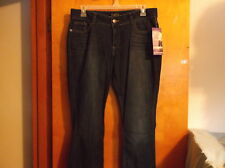 "NEW  LADY'S ""RIDERS by LEE  DARK BLUE DEMIN SLIM BOOT CUT JEANS"