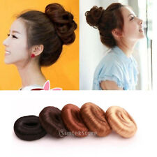 Ring Shaper Styler Maker Brown Black Gold Hairpiece Hairdressing Hair Donut Bun