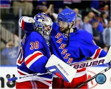 Henrik Lundqvist New York Rangers 2014 NHL Playoff Action Photo (Select Size)