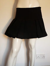 ACNE MISTRESS PLEAT HIGH WAIST MINI / SHORT SKIRT   UK 14   £189    BNWT