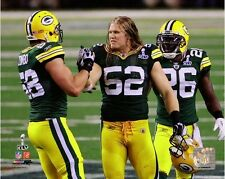 Clay Matthews Green Bay Packers Super Bowl XLV Action Photo (Select Size)