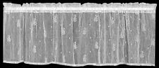 Pineapple Valance by Heritage Lace, 45x15 in White or Ecru, Timeless Style