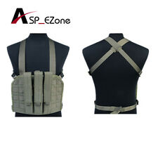Tactical Magazine Chest Rig Coyote Brown 4 Colors