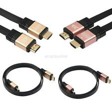 Mini HDMI Cable V2.0 4K 30AWG HD 18Gbps 3D Audio Return Ethernet HDMI Flat Cable